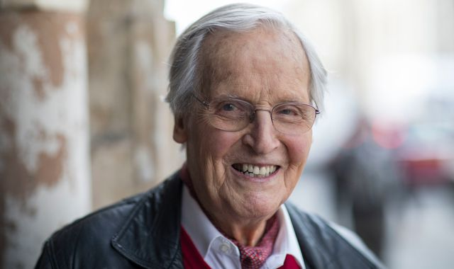 Nicholas Parsons: Just A Minute and Sale Of The Century presenter dies aged 96