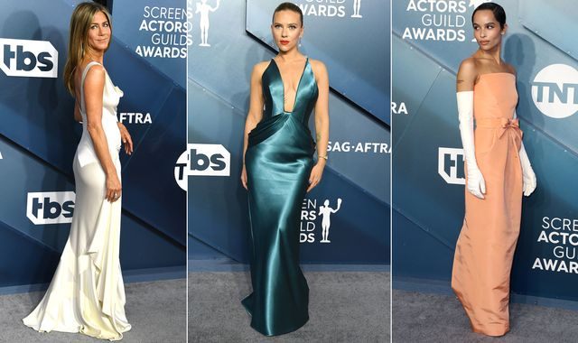Screen Actors Guild Awards: What the stars wore on the red carpet