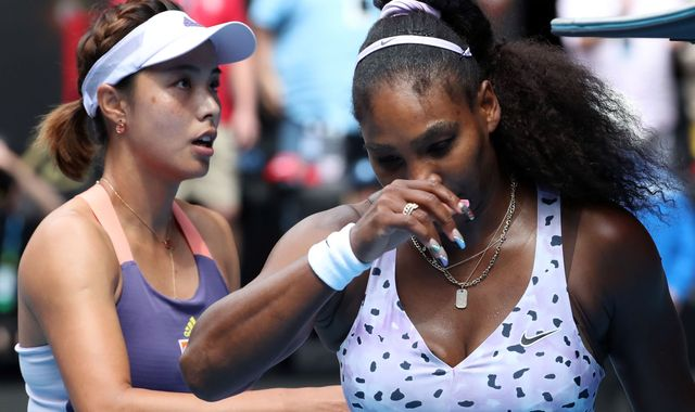 Serena Williams in shock Australian Open third round exit