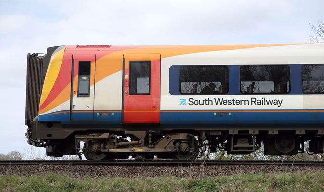 "South Western Railway 'not sustainable in the long term"", Grant Schapps says"