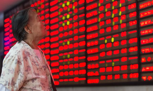 China's markets suffer biggest fall in months as virus fears grow