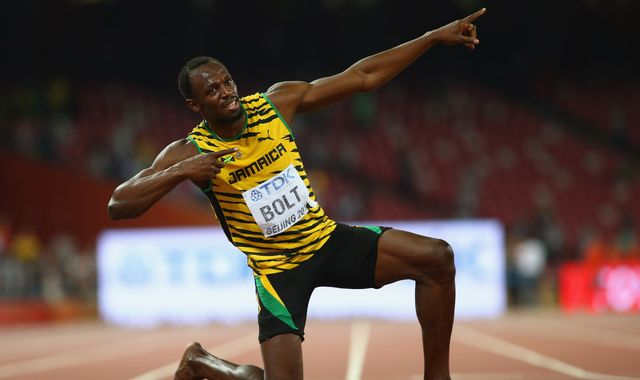 Usain Bolt reveals name of baby daughter - with nod to sprinter's Olympic success
