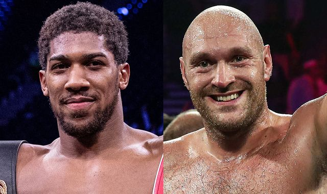 Anthony Joshua vs Tyson Fury can be agreed in 'two minutes' says Eddie Hearn