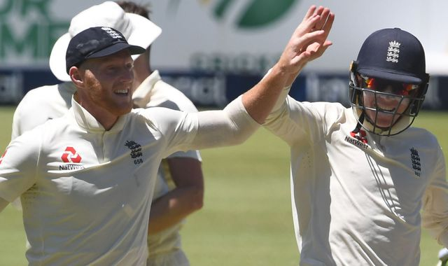 England have stubborn South Africa two down at lunch on day four