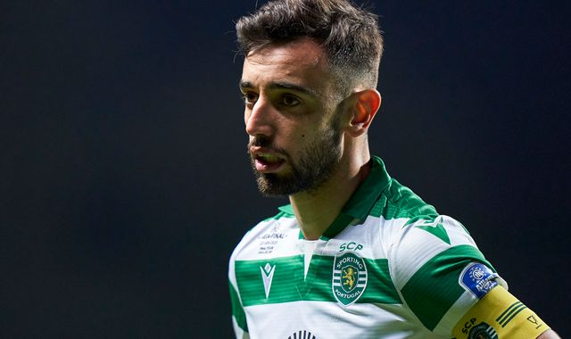 Bruno Fernandes: Manchester United £10m away from Sporting Lisbon valuation