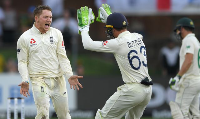 Dom Bess takes maiden Test five-for as England rip through South Africa on day three