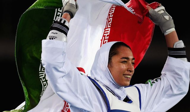 Kimia Alizadeh: Iran's only female Olympic medallist defects
