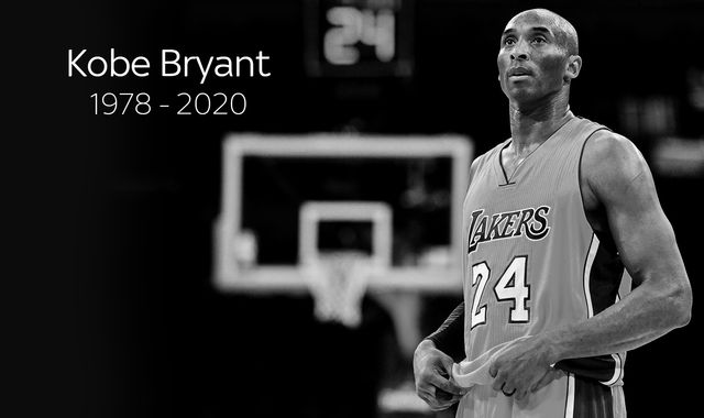 Kobe Bryant killed in helicopter crash aged 41