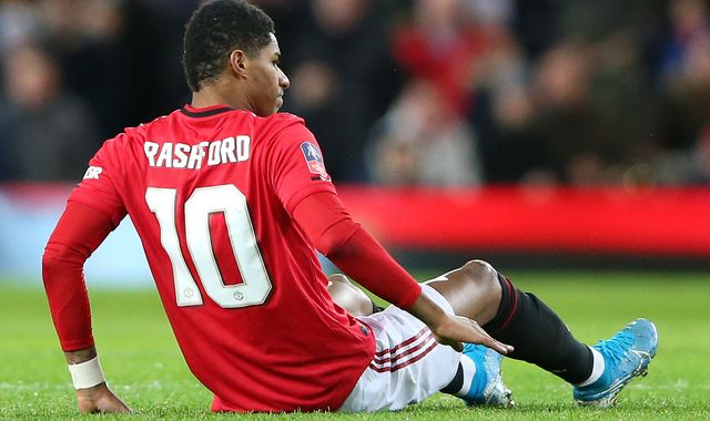 Marcus Rashford 'touch and go' on Manchester United return before end of season, says Ole Gunnar Solskjaer