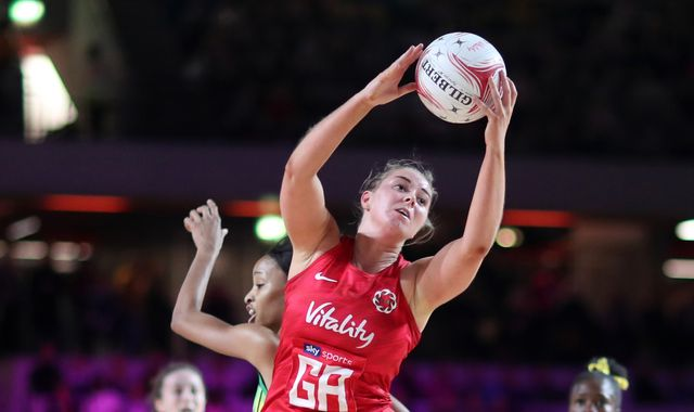 Vitality Nations Cup: England's Roses fall short against Jamaica's Sunshine Girls