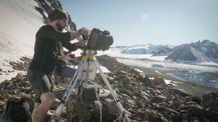 Dave Barnes, a marine ecologist at British Antarctic Survey
