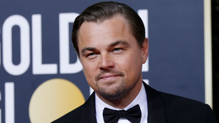 77th Golden Globe Awards - Arrivals - Beverly Hills, California, U.S., January 5, 2020 - Leonardo DiCaprio REUTERS/Mario Anzuoni