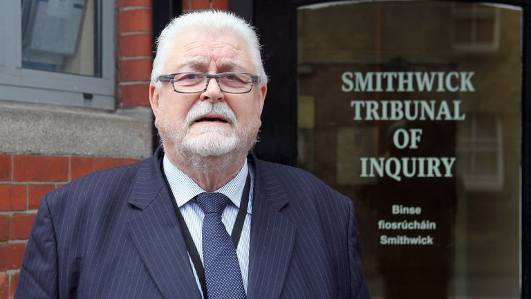 """File photo dated 01/02/13 of Lord Ken Maginnis who has been accused by SNP's Hannah Bardell of """"abusing"""" security staff on the parliamentary estate. Ms Bardell claimed Lord Maginnis had forgotten his pass to enter Parliament and called security workers """"crooked"""" when they offered him advice about what to do."""