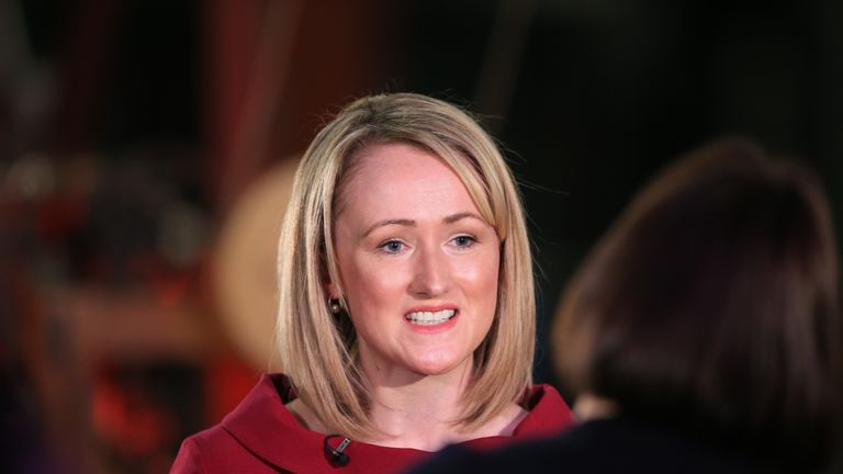 Rebecca Long-Bailey launches her campaign for Labour Party leadership at a members and supporters' event in The Science & Industry Museum, Manchester. PA Photo. Picture date: Friday January 17, 2020. See PA story POLITICS Labour. Photo credit should read: Peter Byrne/PA Wire