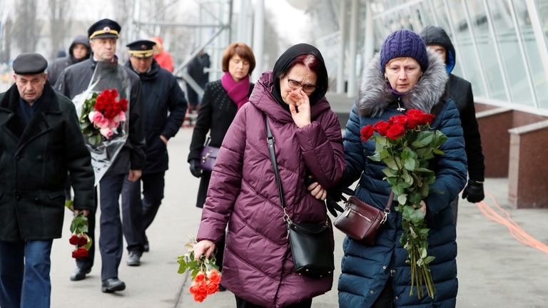 Bodies of Ukrainian victims of Iran plane crash return home
