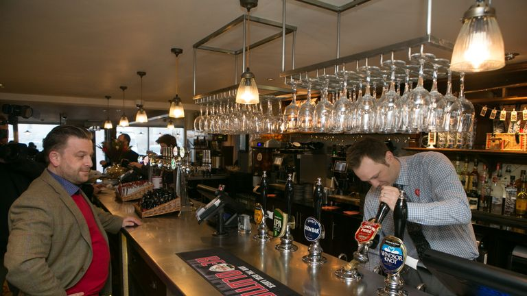 The  new  JD  Weatherspoon pub, The Hope and Champion, which  has opened at the M40 Services at Beaconsfield, Buckinghamshire