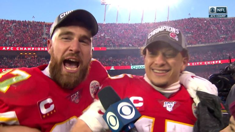Tennessee Titans 24-35 Jefes de Kansas City: Patrick Mahomes brilla cuando los Jefes llegan al Super Bowl   Noticias de la NFL 2