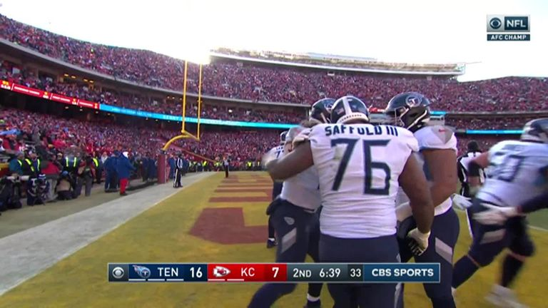 Tennessee Titans 24-35 Jefes de Kansas City: Patrick Mahomes brilla cuando los Jefes llegan al Super Bowl   Noticias de la NFL 7