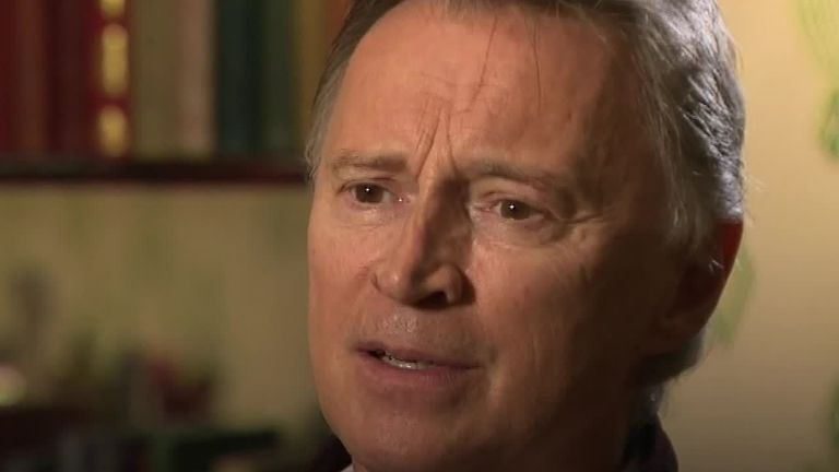 Robert Carlyle spoke to Sky News about Britain's divisive politics