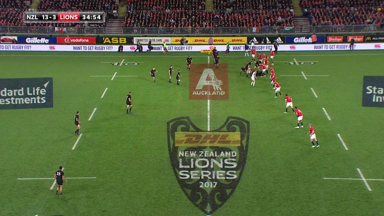 Liam Williams was the starting Lions full-back in all three Tests against the All Blacks in 2017, and started the move leading the Sean O'Brien's stunning first Test try