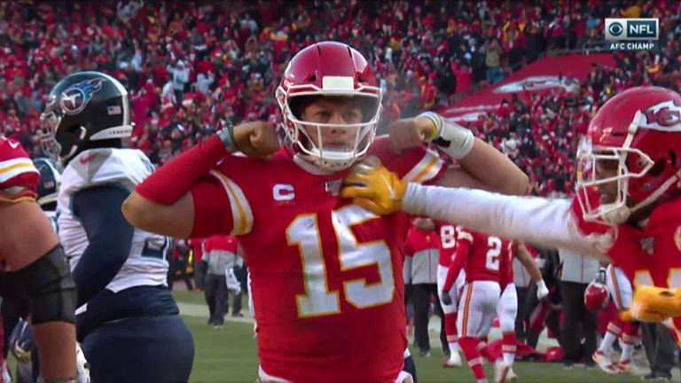 Tennessee Titans 24-35 Jefes de Kansas City: Patrick Mahomes brilla cuando los Jefes llegan al Super Bowl   Noticias de la NFL 10