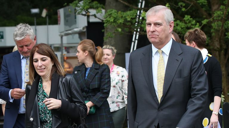 Amanda Thirsk was Prince Andrew's private secretary