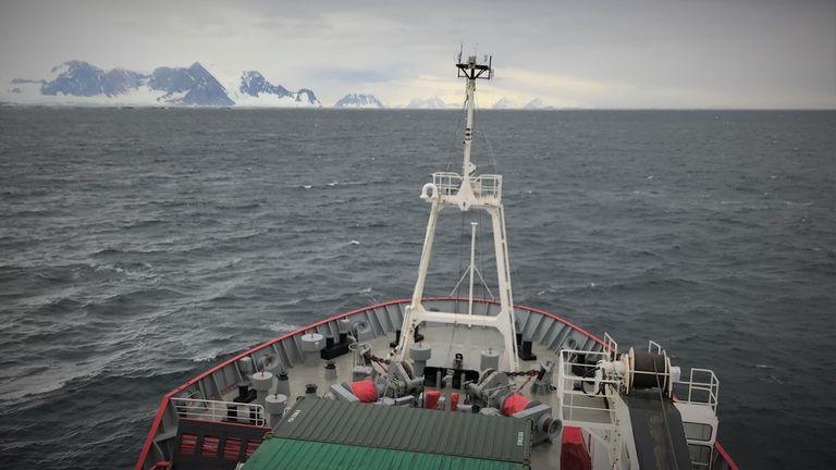 Mon premier iceberg antarctique