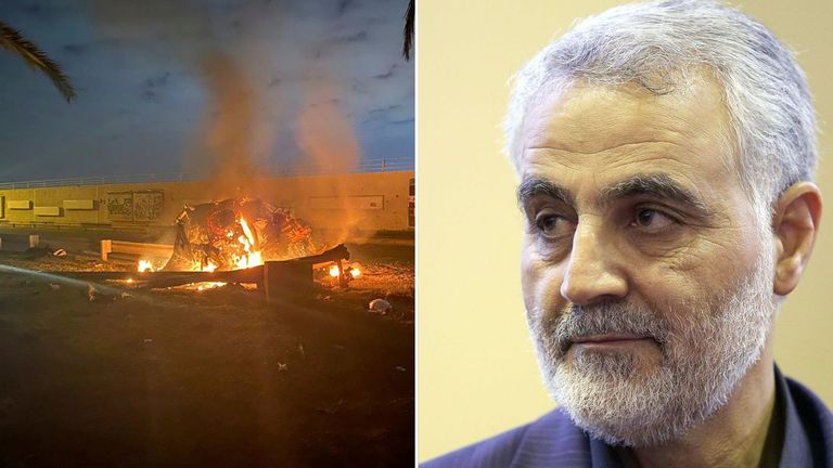 General Qassem Soleimani was killed in the strike at Baghdad airport