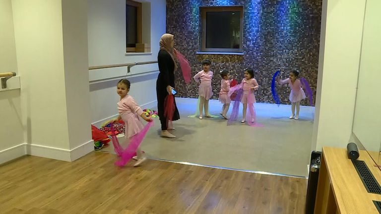 Grace and Poise is believed to be the first Muslim ballet academy in the country