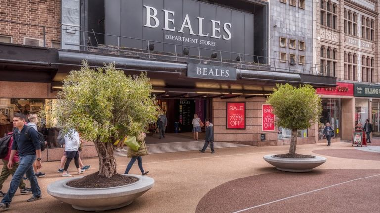 The privately-owned company has 22 stores. Pic: Beales