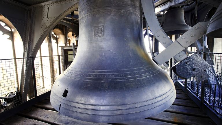 The Elizabeth Tower's Great Bell, commonly known as 'Big Ben' Pic: UK Parliament/Jessica Taylor