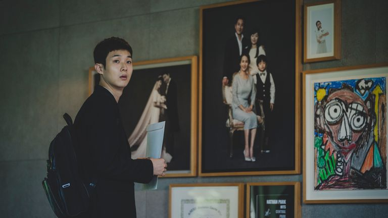 Bong Joon Ho's Parasite. Pic. Studio Canal