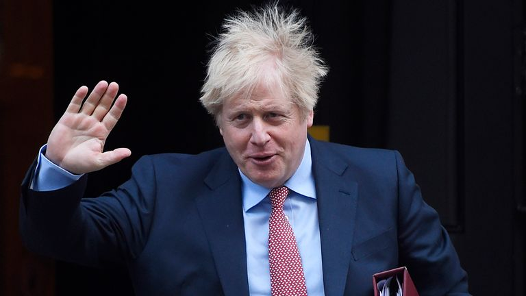 Boris Johnson will hail the 'dawn of a new era' tomorrow