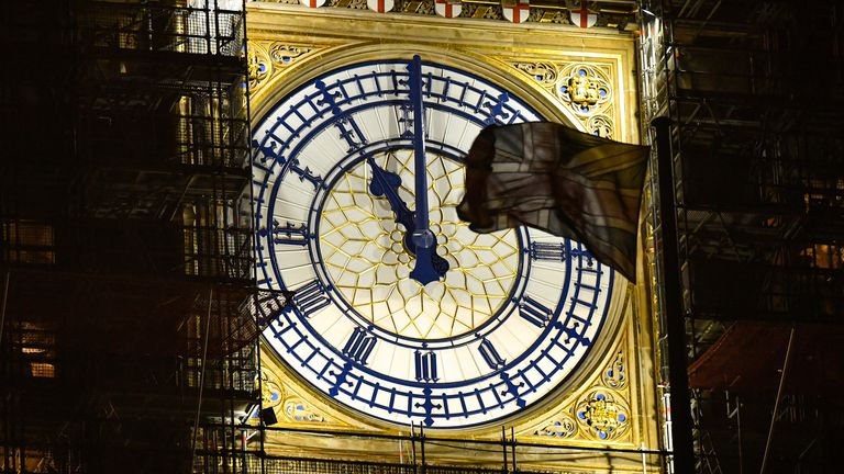 The UK will leave the EU at 11pm tonight - but Big Ben won't be chiming