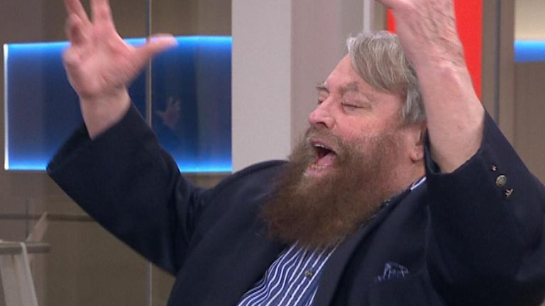 Brian Blessed booms: 'Gordon's alive!'
