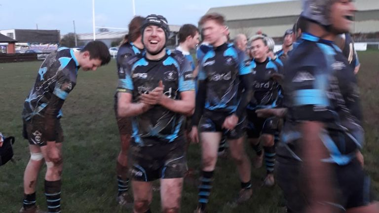Carl helped to create an inclusive rugby team