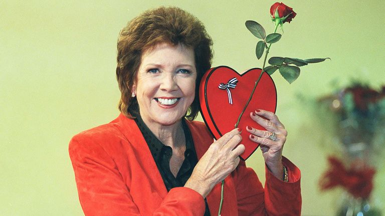 British Entertainer and Presenter Cilla Black In London for auditions for a new series of ITV's Blind Date in 2002