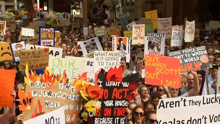 Prime minister Scott Morrison has faced criticism over what many Australians perceive as a slow response to the bushfire crisis.