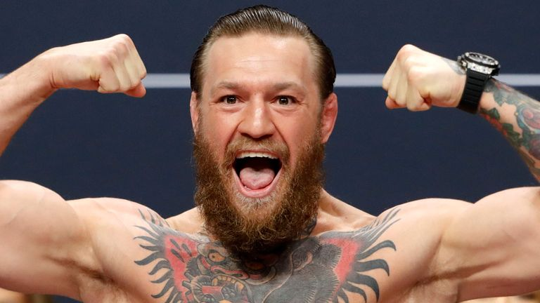 Conor McGregor announces retirement from UFC | World News | Sky News