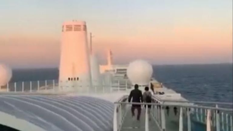 Around 6,000 people were stuck aboard the Italian cruise ship after a Chinese passenger showed possible symptoms of the coronavirus.
