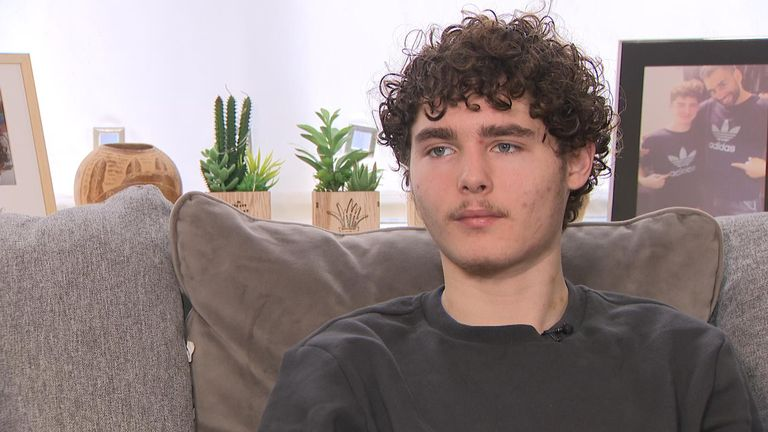 Darren Clark, 17, was robbed at knifepoint, twice in a month two years ago