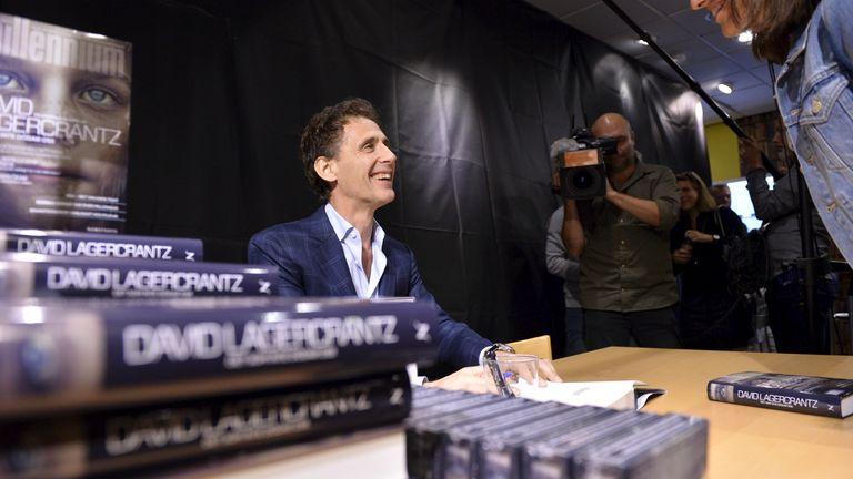 David Lagercrantz wrote a number of sequels to Stieg Larsson's Millennium trilogy