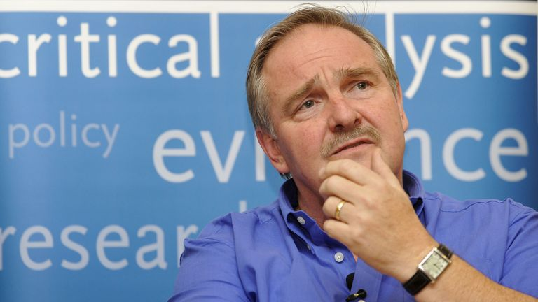 Professor David Nutt was sacked as the government's chief drug adviser in 2009