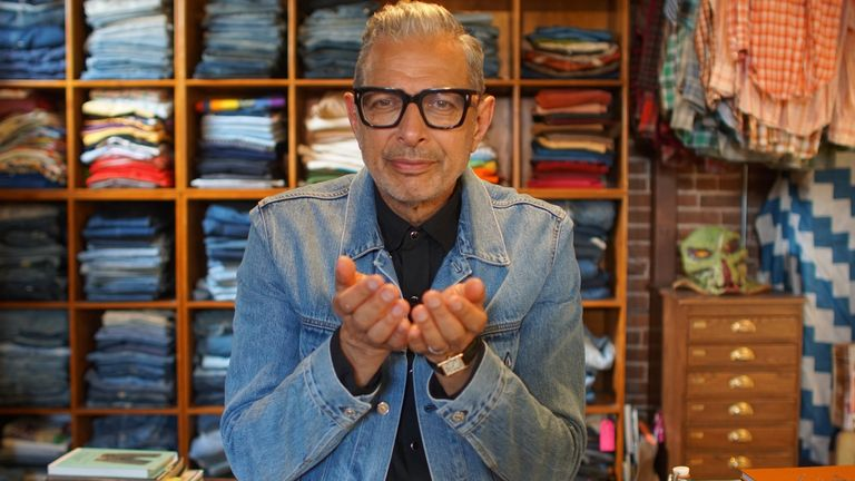 Disney+'s The World According To Jeff Goldblum. Pic: Disney+