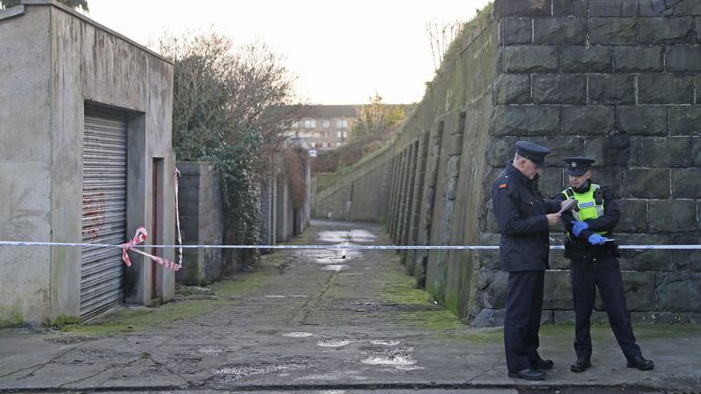 Gardai are still investigating a property in connection with the murder