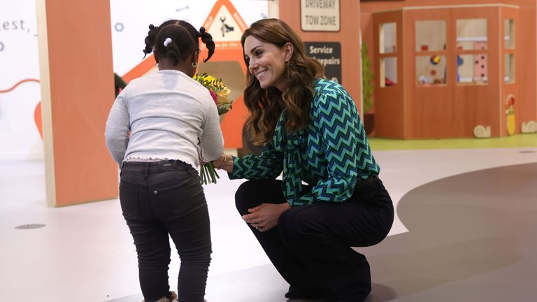 EMBARGOED TO 2230 TUESDAY JANUARY 21 The Duchess of Cambridge attends the launch of a UK-wide survey on early childhood at Thinktank, Birmingham Science Museum. PA Photo. Picture date: Tuesday January 21, 2020. The poll, conducted by Ipsos MORI on behalf of the Royal Foundation, is thought to be the biggest survey of its kind and aims to encourage a nationwide conversation on early childhood. See PA story ROYAL Cambridge. Photo credit should read: Eddie Keogh/PA Wire