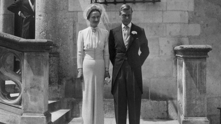 Edward VIII abdicated and married Wallis Simpson in 1937