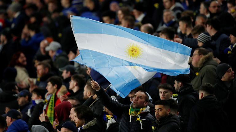 FC Nantes will wear blue and white - the colours of the Argentine flag - for Sunday's game