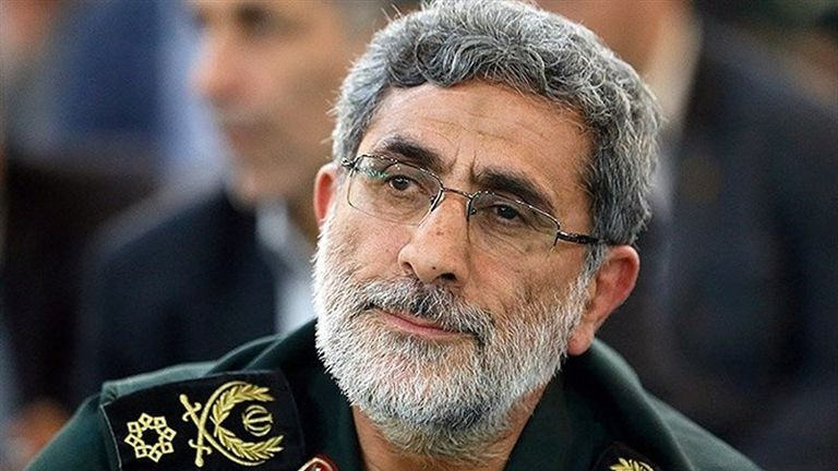 Esmail Ghaani has been named as head of the Quds Force after Major General Qassem Soleimani was killed in a US airstrike