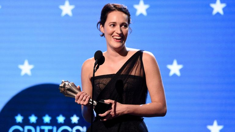 Phoebe Waller-Bridge's Fleabag was a big winner at the Critics' Choice Awards